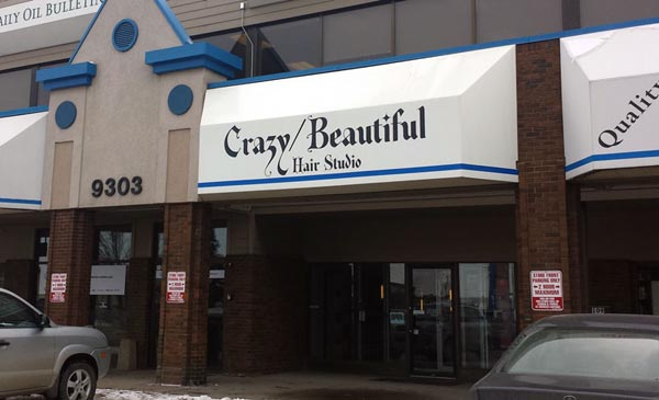 Crazy Beautiful Hair Awning