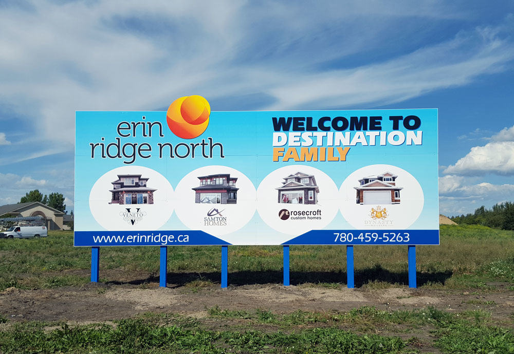 Erin Ridge Showhome Billboard