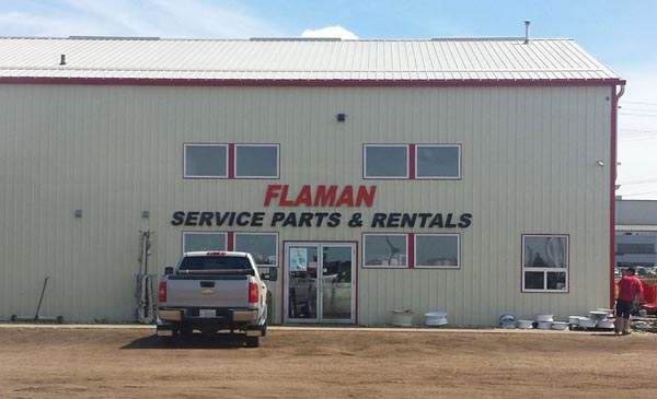 Foam Letters for Flaman Edmonton service department