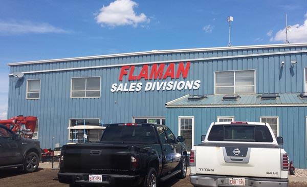 Foam Letter sign for Edmonton business