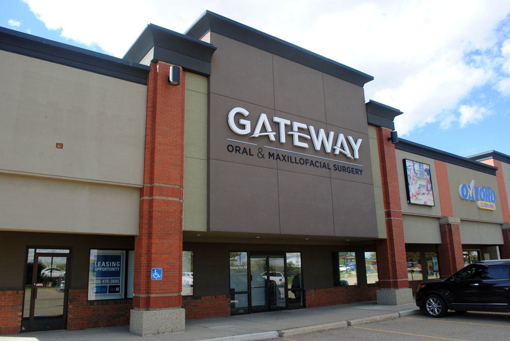 Gateway Surgery Backlit/Halo Lit Sign
