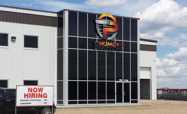 Large, specialty channel letter sign in Edmonton