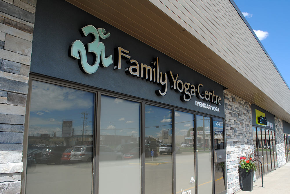 Family Yoga Lit Individual Letters