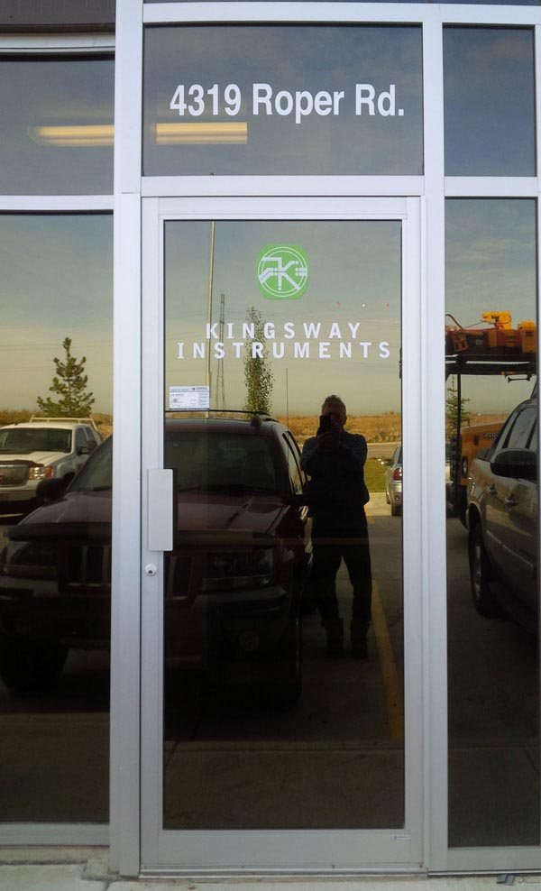 KingswaKingsway Instruments Window Decals