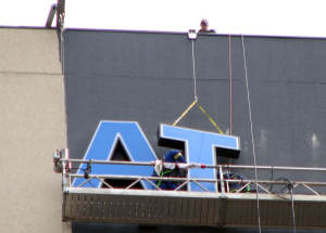 ATB Channel Letters Installation