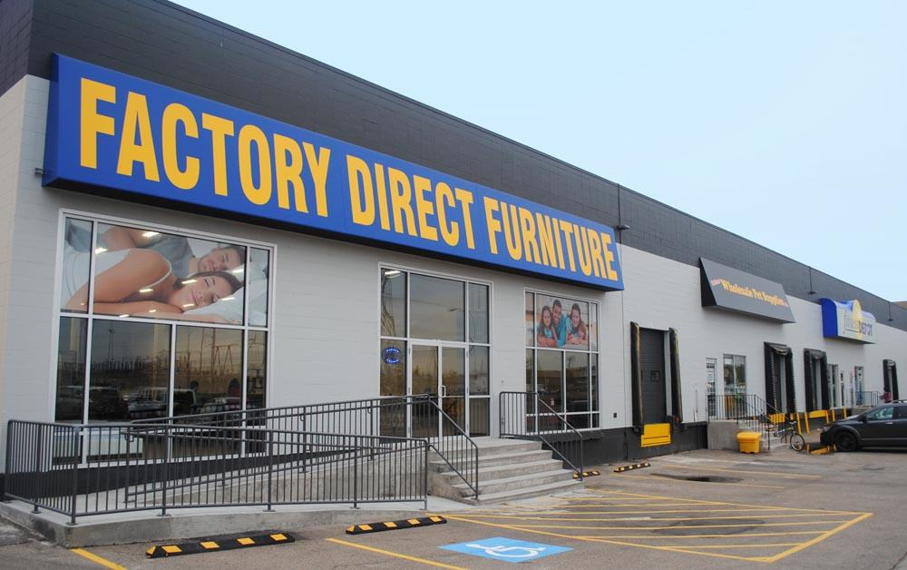 Large commercial storefront awning sign