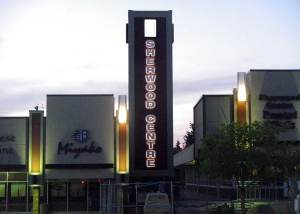 Sherwood Centre Halo Letters