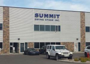 Summit Swingstage Channel Letters