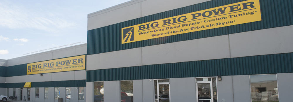 Big Rig Power Dibond Panel Signs
