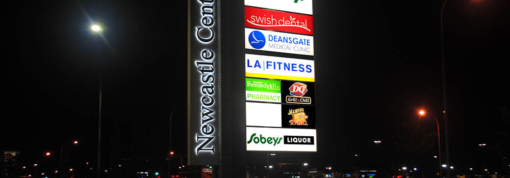 Sign face replacements for pylons and other storefront signs