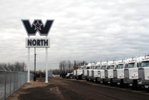 Western Star Pylon Sign in Acheson
