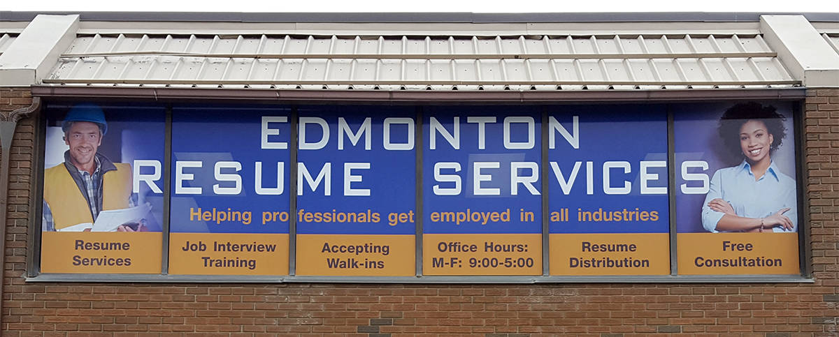 edmonton resume services