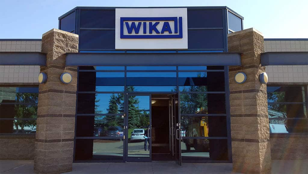 Wika Instruments Illuminated Signage