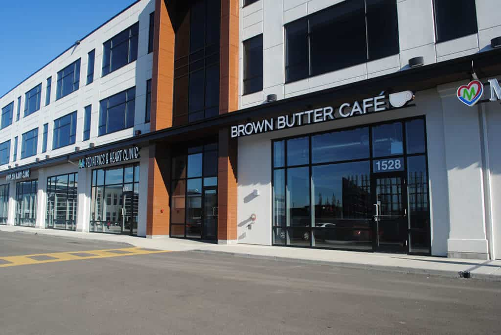 Brown Butter Cafe Channel Letter Signs Edmonton