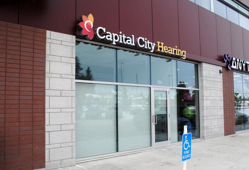 Capital City Hearing Channel Letters, Allendale - Edmonton