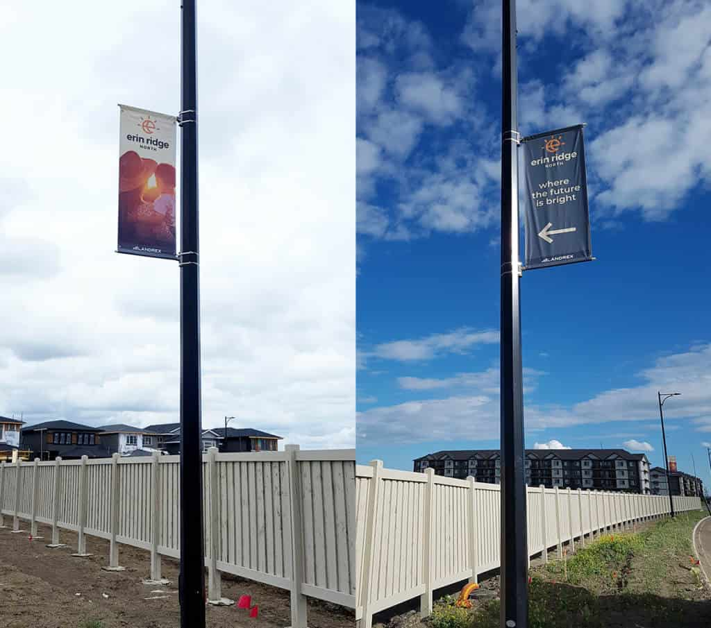 Builder Pole Signs in St. Albert