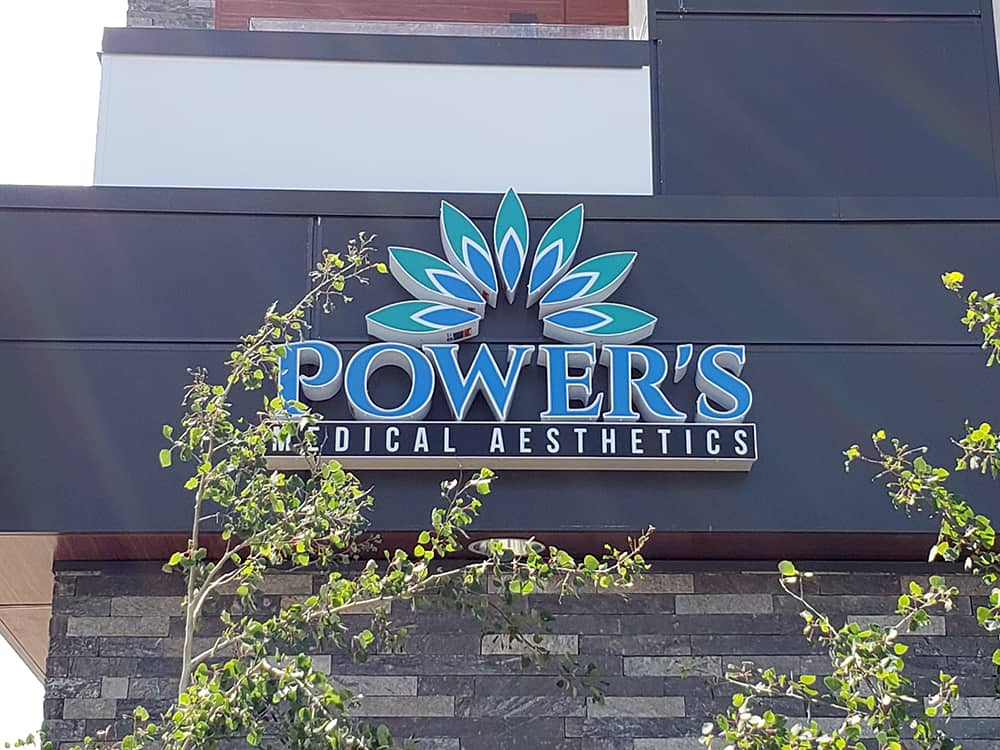 Powers Medical Custom Illuminated Cabinet